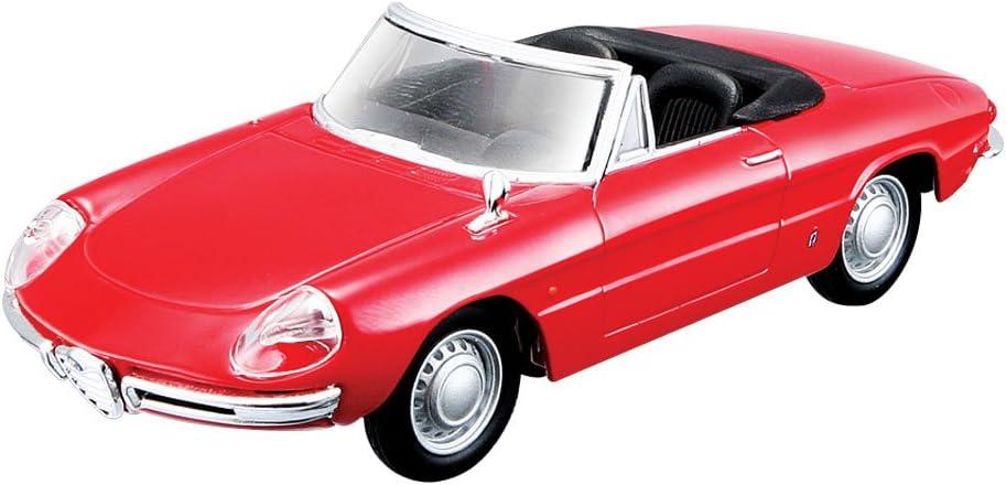 Bburago 15643211 - Alfa Romeo Spider, Coche de escala 1:32 , color/modelo surtido