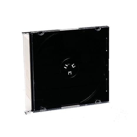 Amazon.com: Verbatim CD y DVD Slim Jewel Case 200 Disco de ...