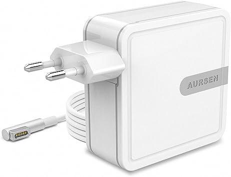 Aursen 45W Adaptador de corriente Magsafe 1 (L Forma), Cargador ...