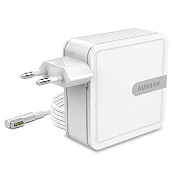 Aursen 45W Adaptador de corriente Magsafe 1 (L Forma), Cargador Adaptador para Apple MacBook Air 11