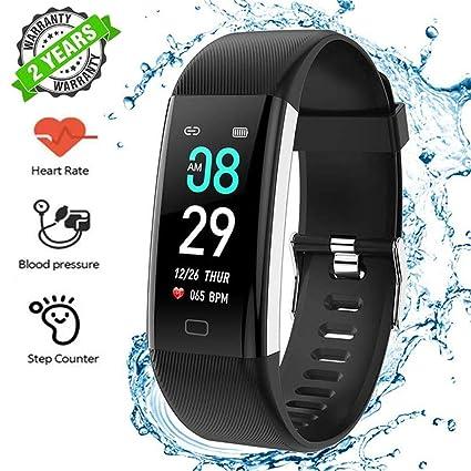 LTPAG Pulsera Inteligente Reloj Deportivo, Monitores de Actividad Pulsera Salud