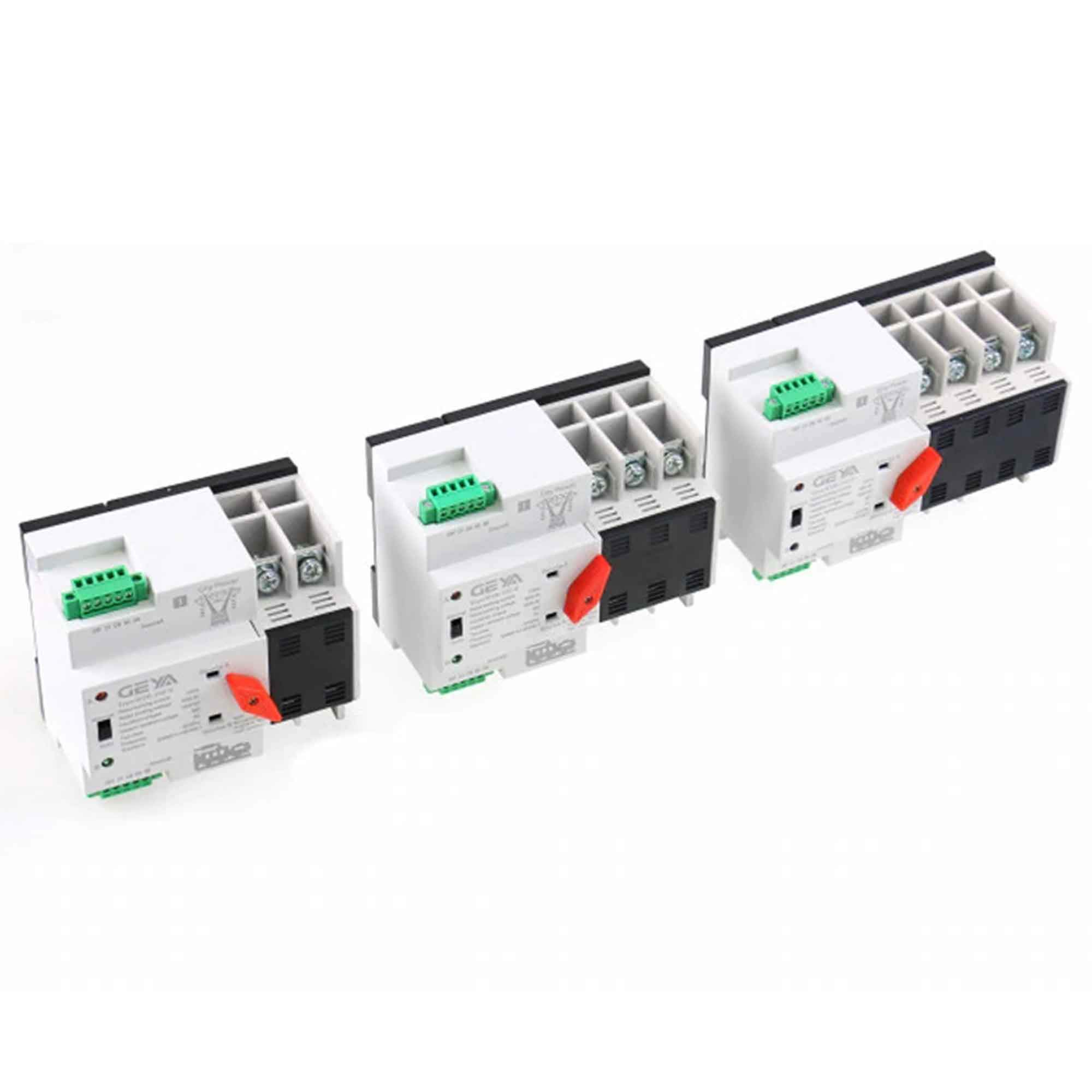 GAEYAELE W2R Mini ATS 4P Automatic Transfer Switch Controller Electrical Type ATS Max 100A 4POLE (W2R-4P 100A) by GAEYAELE (Image #8)