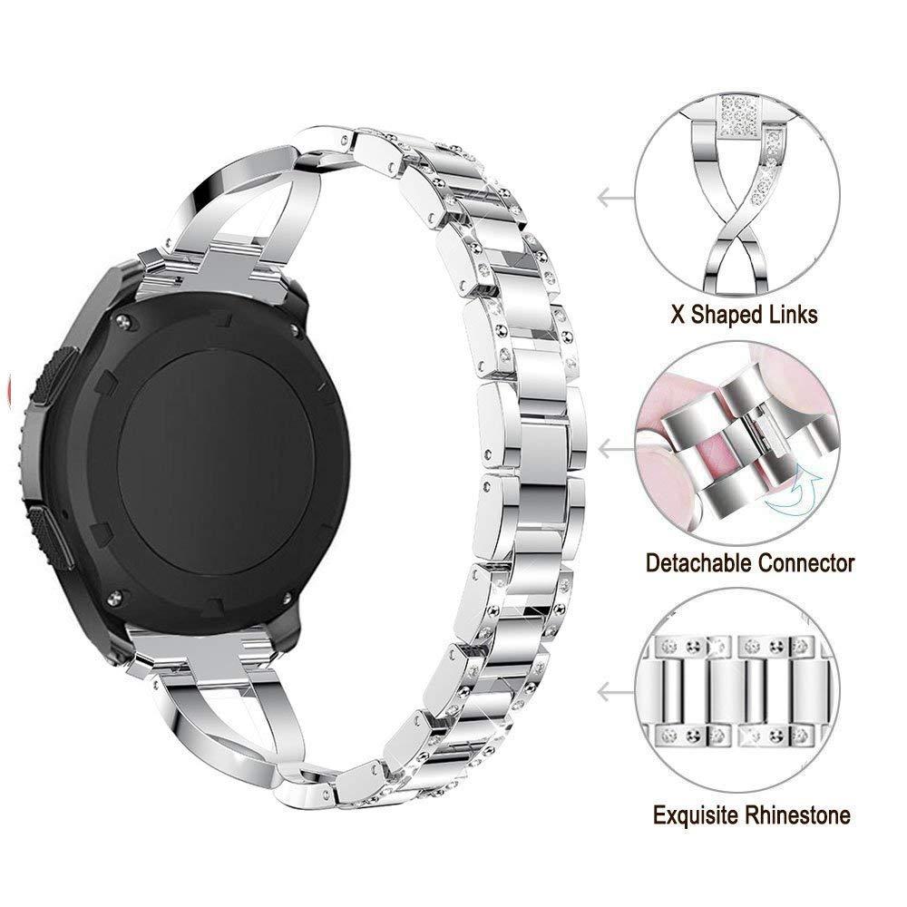 Amazon.com: Jewelry Band for ZTE Quartz Smart Watch - 22MM ...