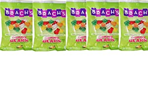 Brachs Gummy Bears and Gummy Worms 6 oz- 5 pack