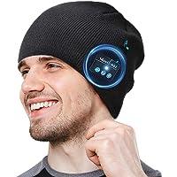 COTOP Gorro Bluetooth 5.0 Regalos originales, regalo para hombres, mujeres, cálido y suave gorro de invierno con música…