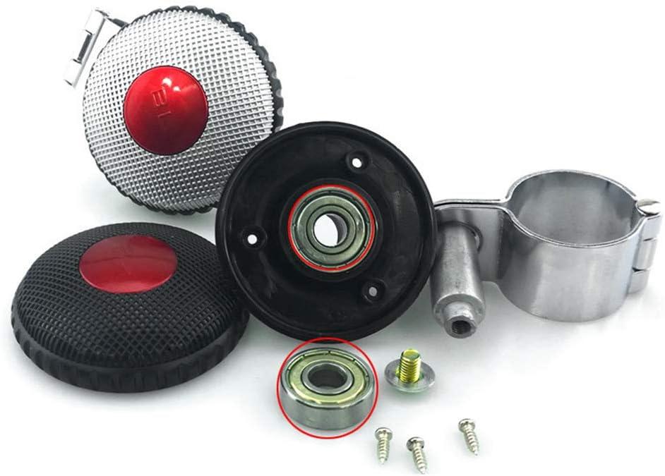 4# Grebest Steering Wheel Control Ball Interior Decoration Steering Wheel Knob Auto Car Steering Wheel Steel Bead Bearing Auxiliary Control Knob Ball Booster