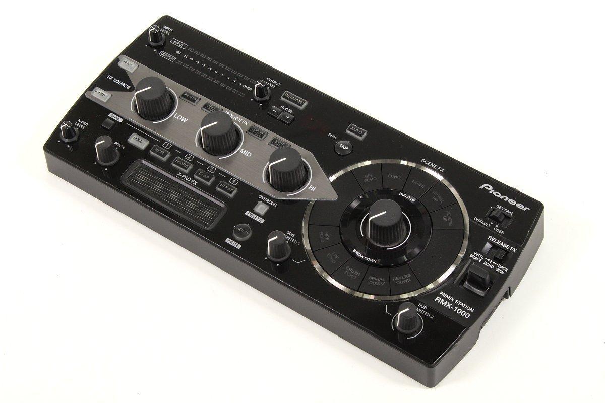 PIONEER/RMX-1000 Black REMIX STATION パイオニア DJ用エフェクター B07DRB4RYM