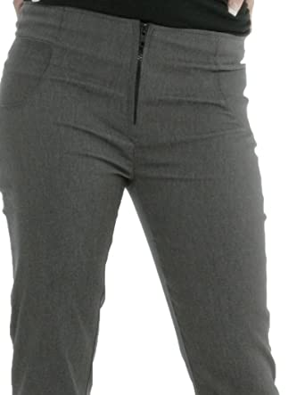 best shoes buy sale special for shoe Girls School Trousers Ladies Trousers Black Charcoal Grey ...