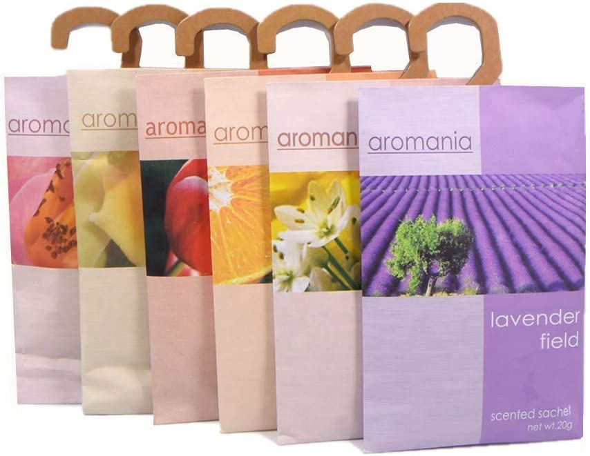 YUMSUM Bolsas Para Ropa Parfumadas, 6 pcs, 25g: Amazon.es: Hogar