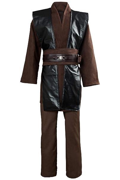 Amazon.com: Tunic Costume Jedi Cosplay Costume Mens ...