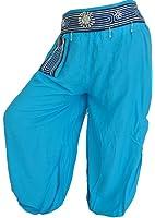 Aladin Harem Pantalon sarouel défaites Taille S-L de loisirs beaucoup de couleurs sélectionnables