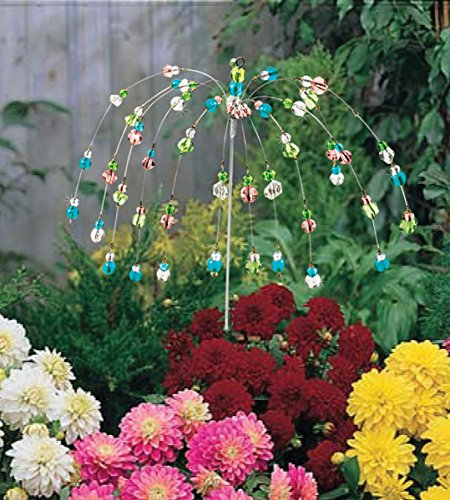 The Paragon Yard Decoration Stake - Wind Dancer Beaded Stake, Outdoor Garden Decor by The Paragon (Image #3)