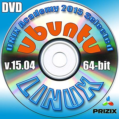 Ubuntu 15.04 Linux DVD 64-bit Full Installation Includes Complimentary UNIX Academy Evaluation Exam