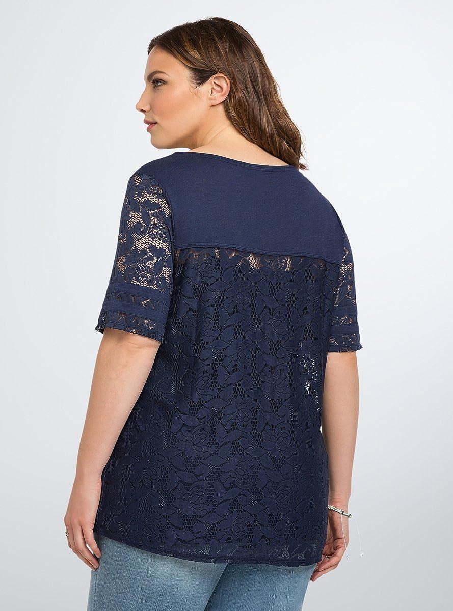 Amazon.com: Torrid Lace Football Top: Clothing