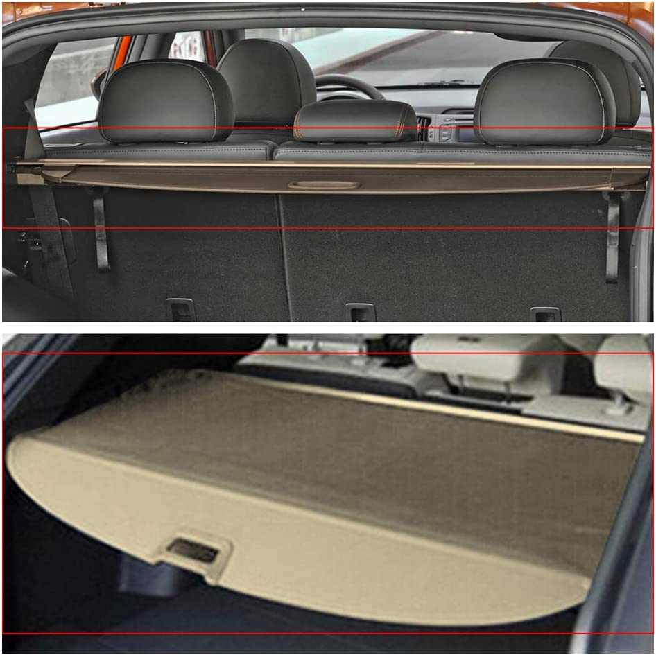 Cargo Cover Fits 2011 2013 Kia Sorento 2012 Oem Style Black Luggage Carrier Rear Trunk Security