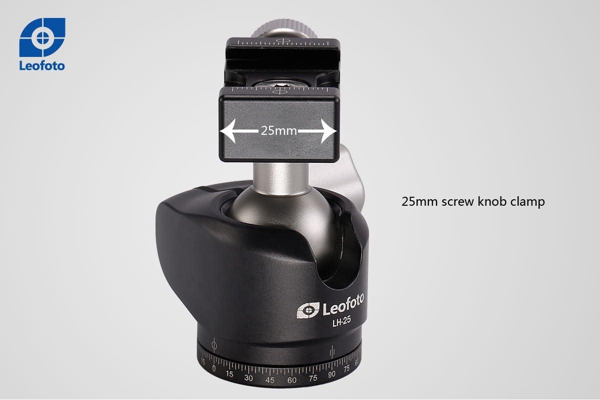 LEOFOTO LH-25 25mm Low Profile Ball Head Arca RRS Compatible