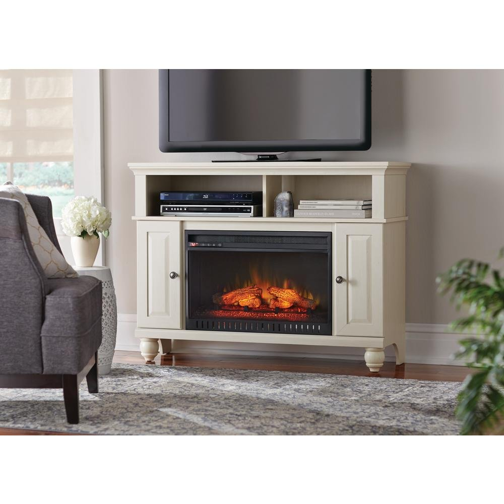 Whalen Limited WSFP46ECHD-5 Ashurst 46''Media Console Infrared Electric Fireplace