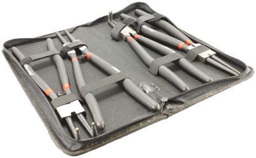 4 piezas 13 pulgadas 325mm Circlip Snap Ring Alicates Set Case Mecánica Taller Herramientas