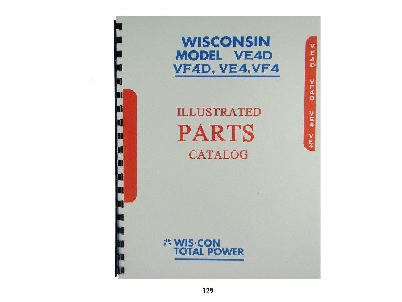 wisconsin ve4d, vf4d, ve4, vf4 engines illustrated parts manual Jaguar Parts Diagram