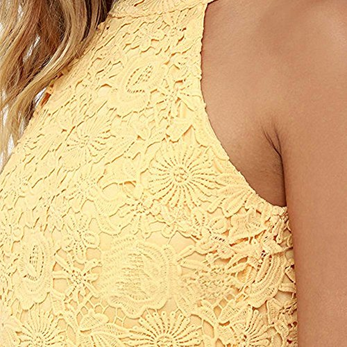 Womens Halter Lace Dresses for Special Occasions