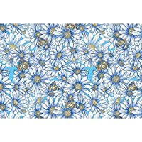 Artzfolio Daisies Art & Craft Gift Wrapping Paper 18 X 12Inch;Set of 5 Pcs