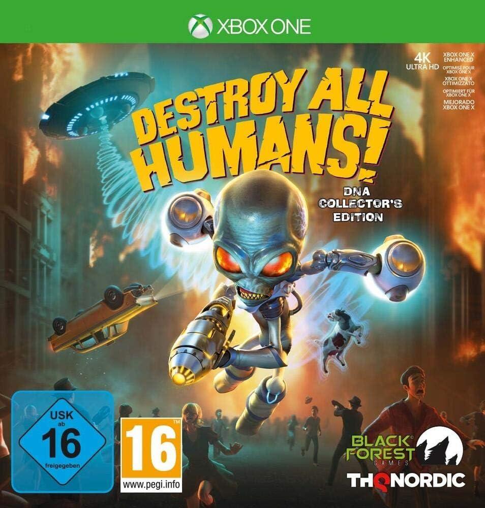 Destroy All Humans! DNA Collectors Edition - Xbox One: Amazon.es ...