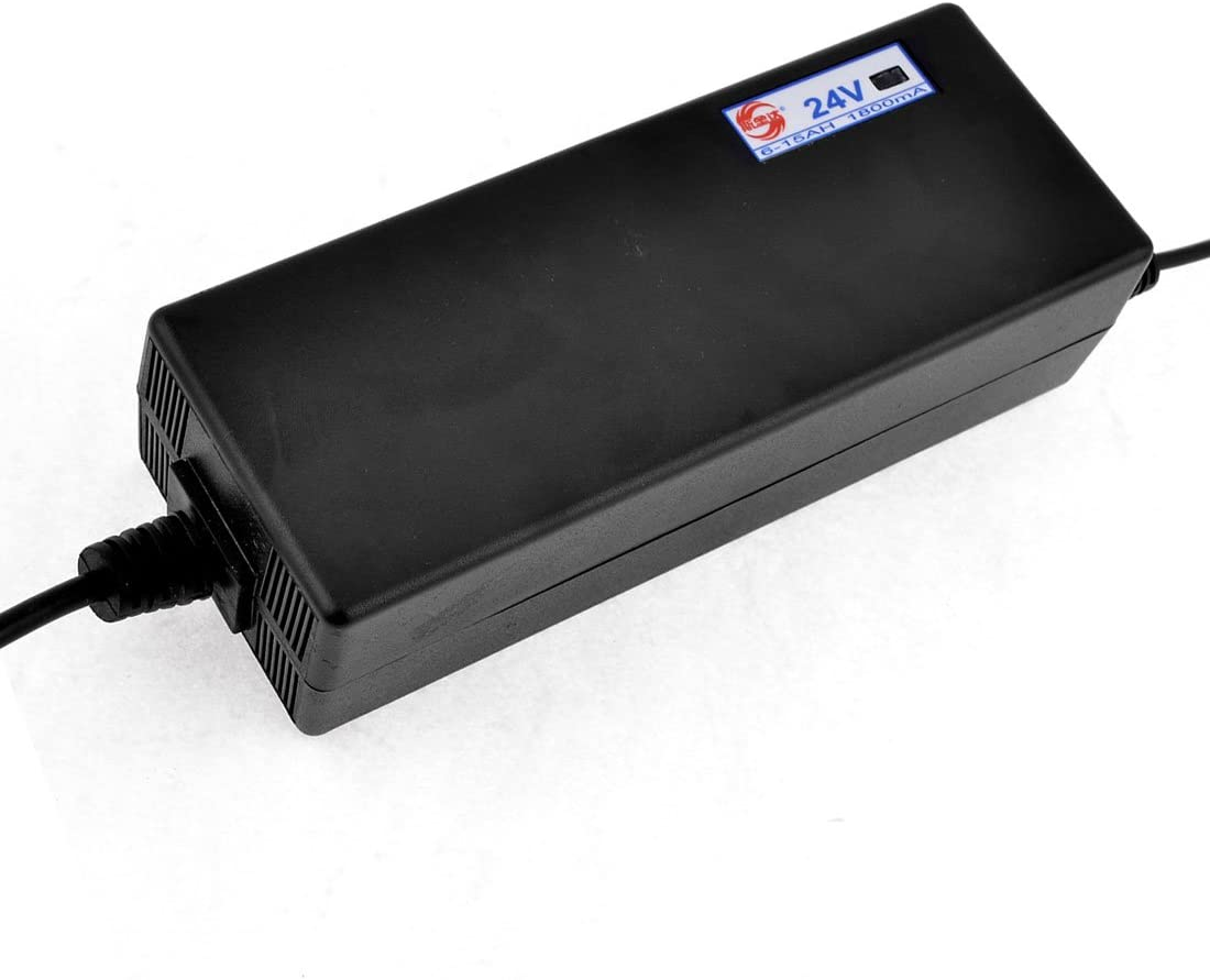 X-Dr EE. UU. Enchufe de CC 24V 6-15AH Cargador de batería de bicicleta eléctrica AC 170V-240V (9fc86a6ae95569fcbf6fc493c6785daf)