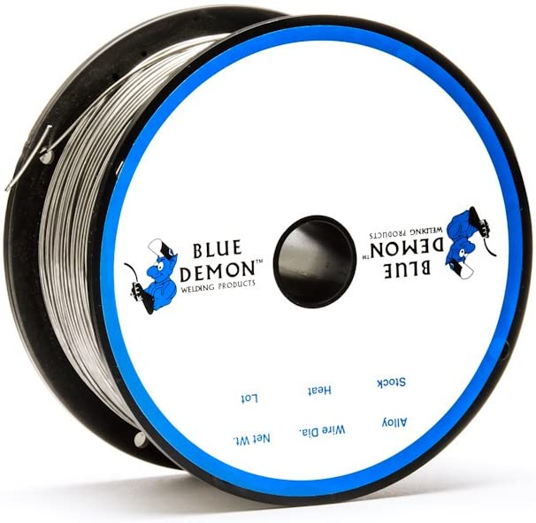 309LSI .035 TIG Stainless Steel 1 lb Tube Welding Wire Blue Demon