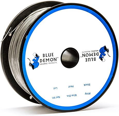 "ER308L X .035 X 36/"" X 10 lb box TIG rod Blue Demon stainless steel welding wire"