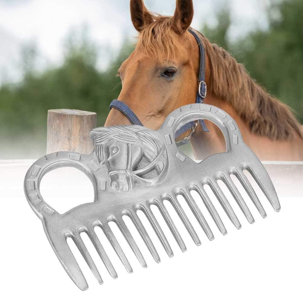 Horse Faux Leather Body Brush **FREE UK POSTAGE ***