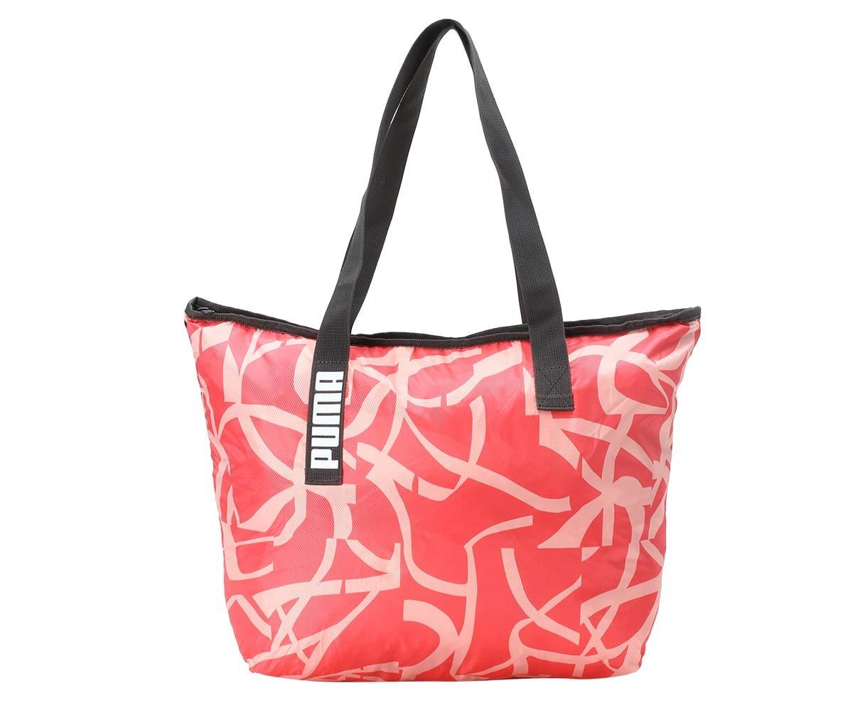 Puma Core Active Shopper Bag, Unisex–Adulto, Puma Black-puma White-AOP, OSFA Unisex-Adulto 75141 04