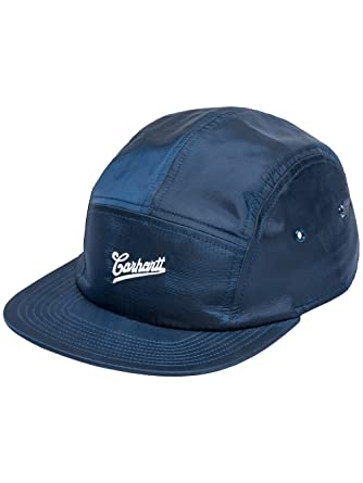 629318cee71 Carhartt WIP Hats Strike Nylon 5 Panel Cap - Navy Adjustable  Amazon.co.uk   Clothing
