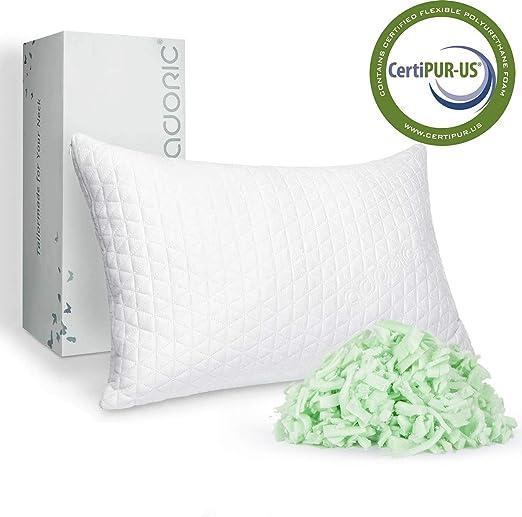 Amazon Com Adoric Memory Foam Pillow King Size Pillows For