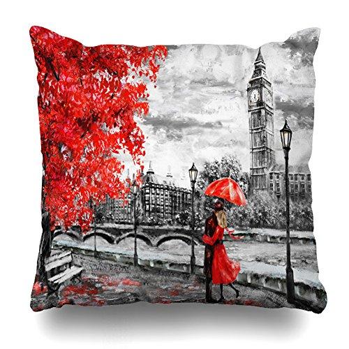 Soopat Decorative Throw Pillow Cushion Cover 18'X18'...