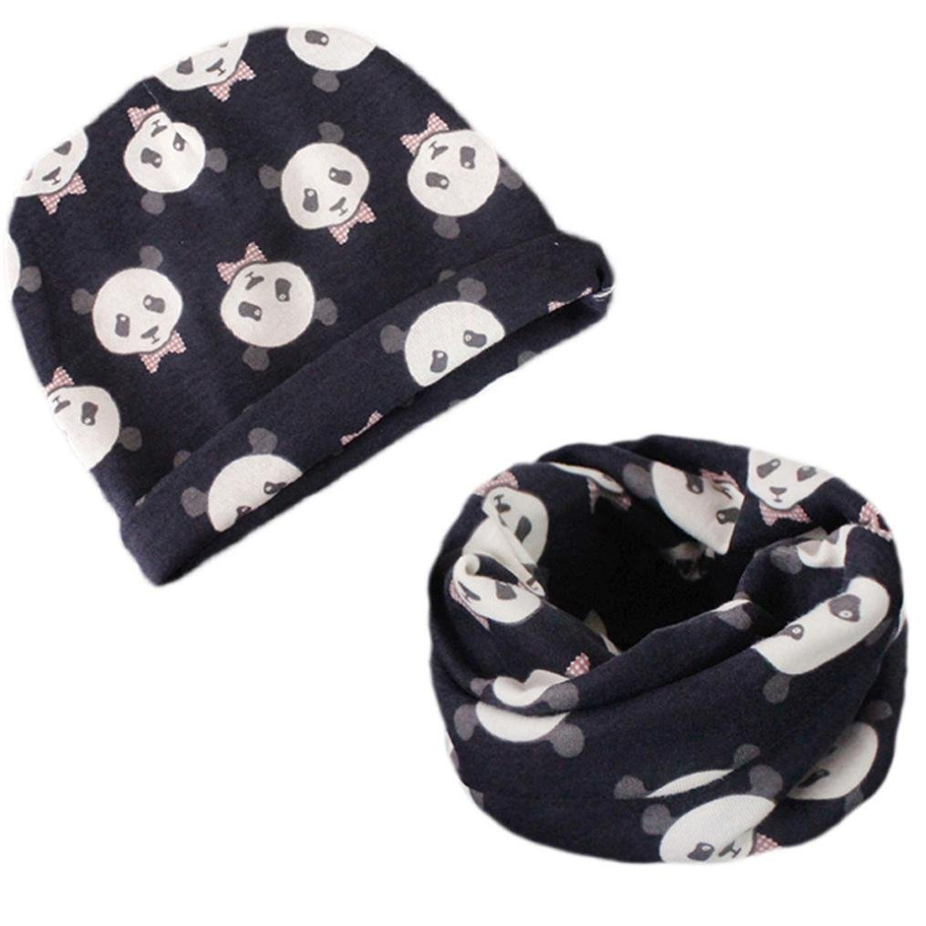 Sombrero de bebé + bufanda Chicos Chicas Otoño invierno Calentar ...