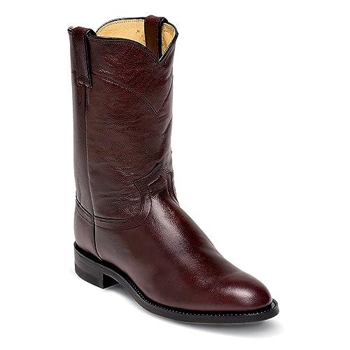 89af6920c64 Justin Mens Roper 10in Leather Boots