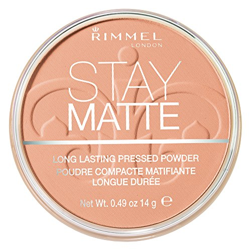 Rimmel Stay Matte Pressed Powder, Nude Beige, 0.49 Ounce