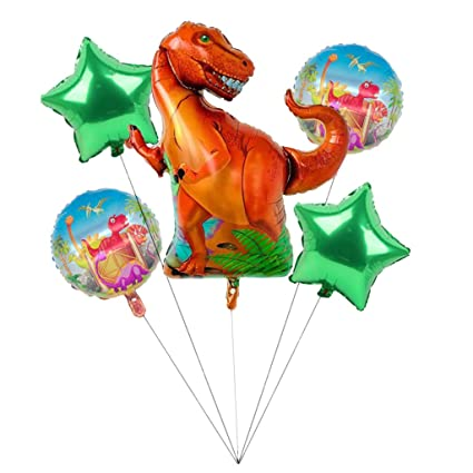 B Blesiya Suministros para Fiestas De Dinosaurios - 5 Piezas ...