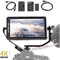 "Feelworld F6 On-Kamera LCD Monitor Professionelle 4K HDMI 5,7"" IPS für Canon Nikon Sony Panasonic DSLR Mirrorless Kameras, F550 Akku Kit enthalten"