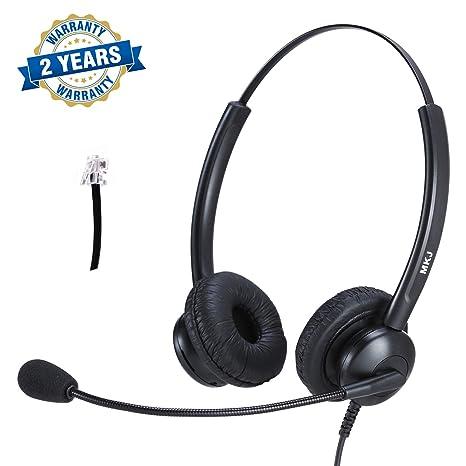 Amazon com: Cisco Headset Dual Ear Landline Headset with Microphone