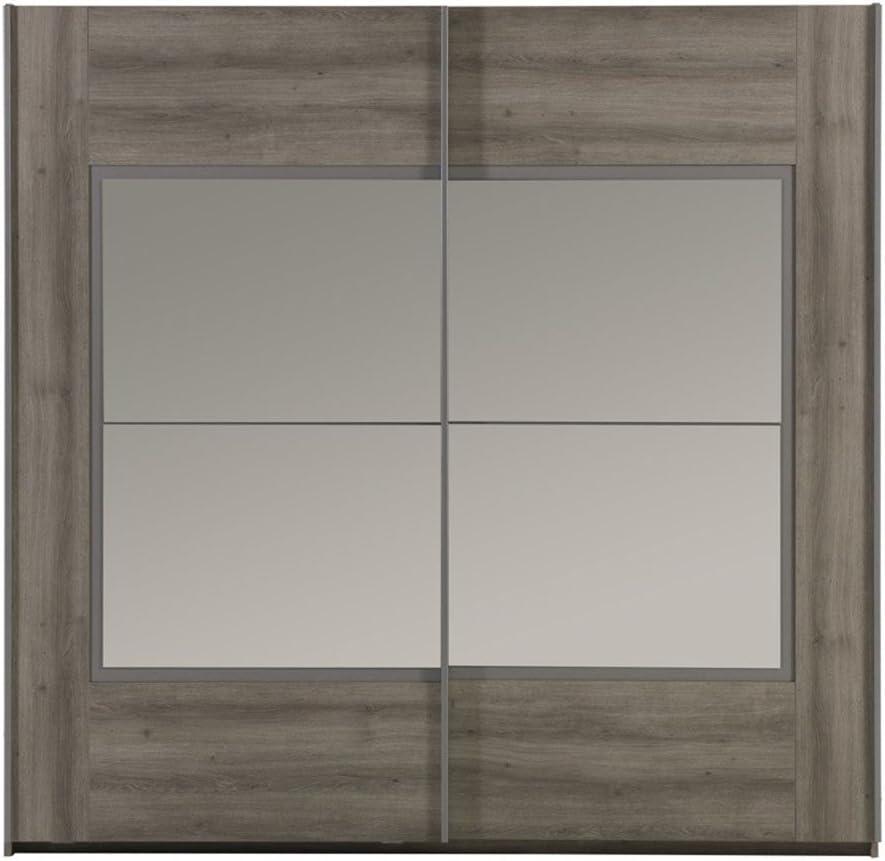 AltoBuy Parker – Armario 2 Puertas correderas 220 cm: Amazon.es: Hogar