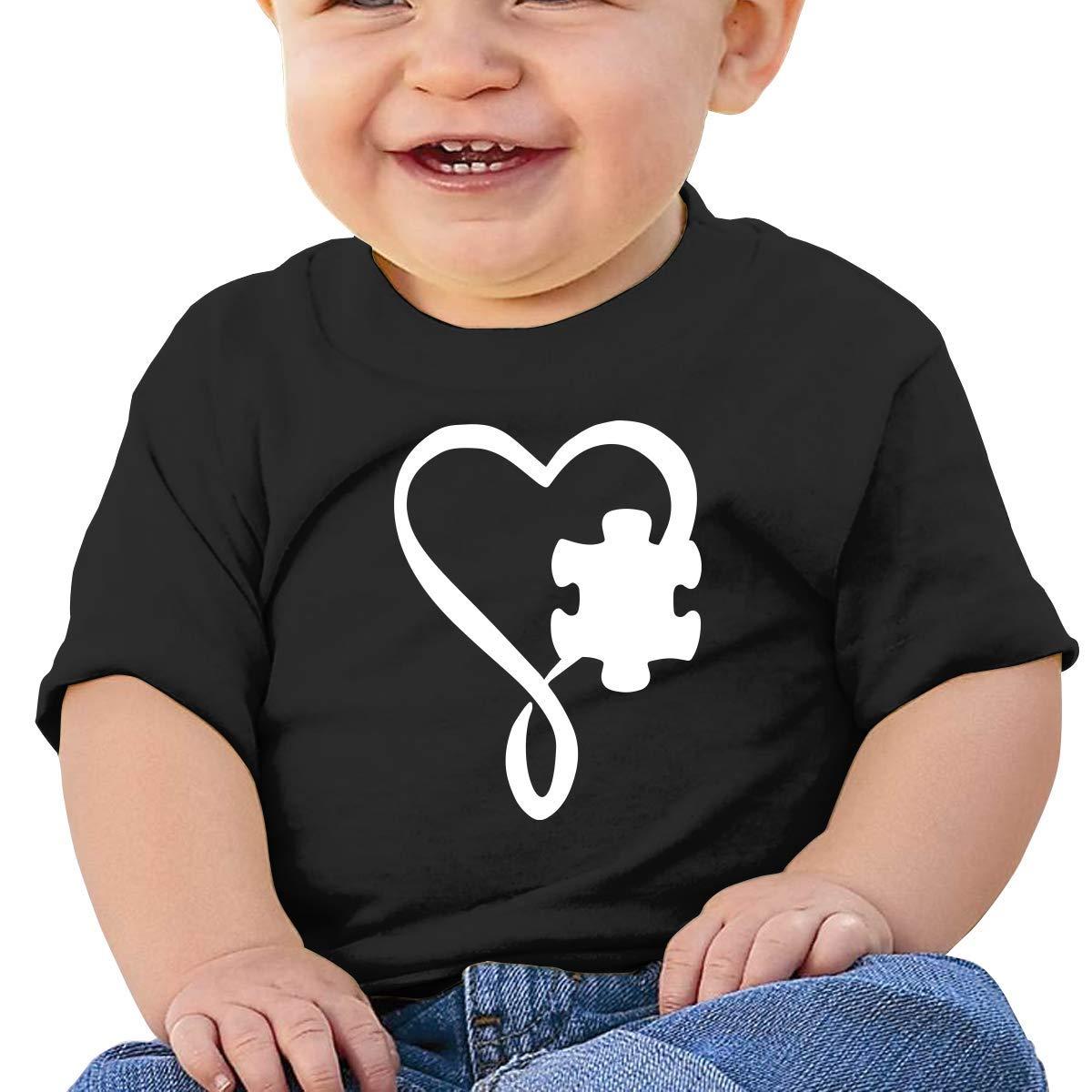 ZhuHanug Canada U.K Flag Newborn Baby Short Sleeve Crewneck Tee Shirt