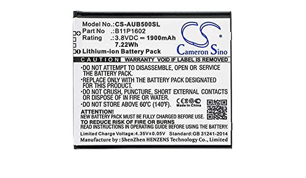 Amazon.com: Cameron Sino Battery for Asus 0B200-02170000 ...