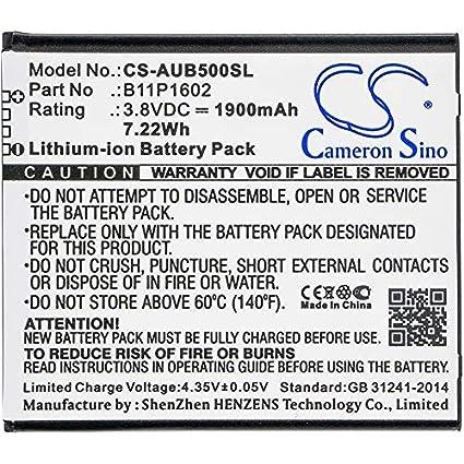 Amazon.com: Cameron Sino Battery for Asus 0B200-02170000,B11P1602 ...