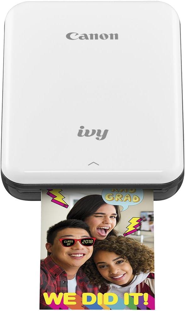 Canon IVY Mobile Mini Photo Printer through Bluetooth(R), Slate Gray
