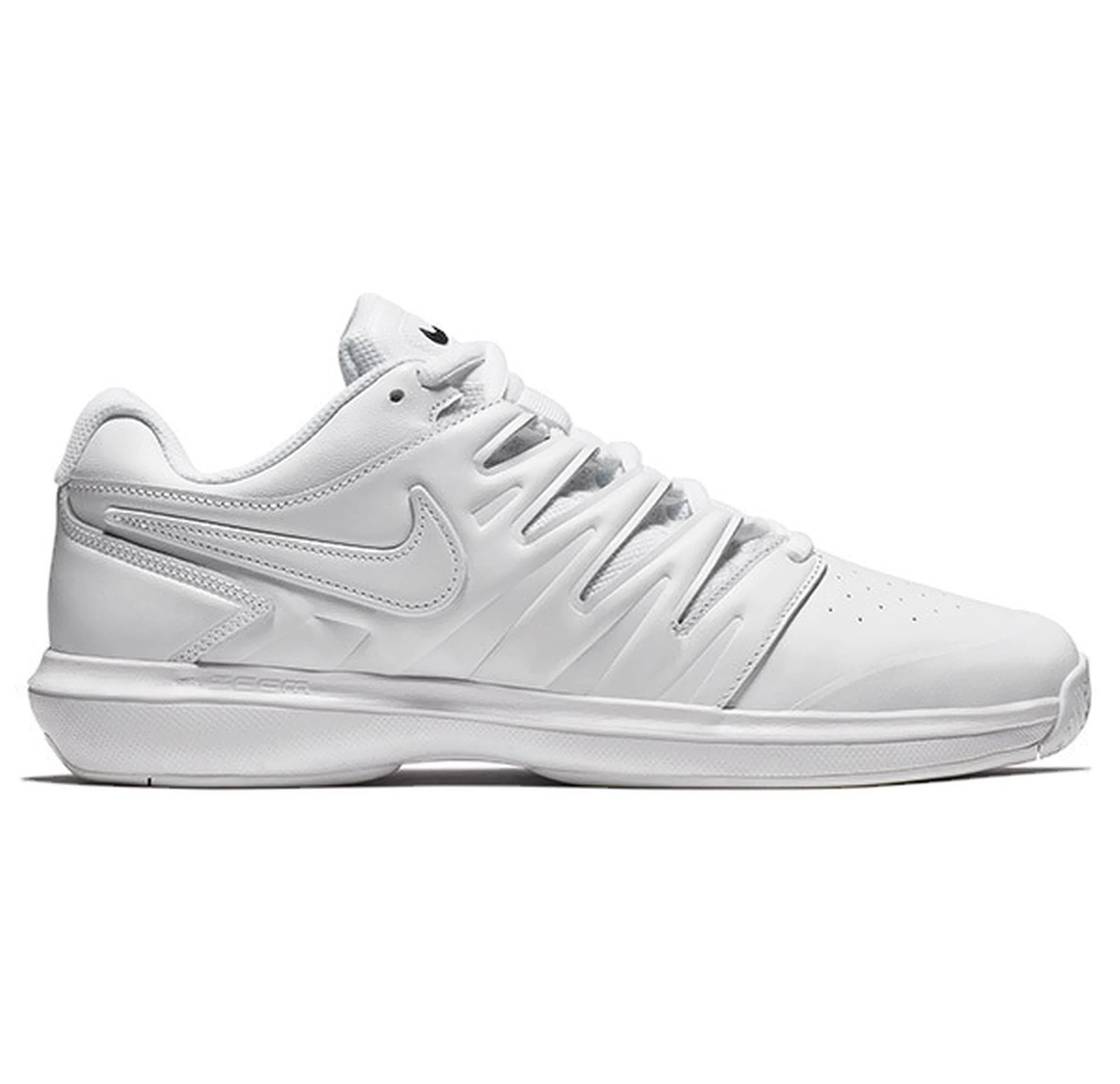 huge selection of 6c0fb 16ac9 Galleon - NIKE Men s Air Zoom Prestige Tennis Shoes (12 D US, Leather -  White White Black)