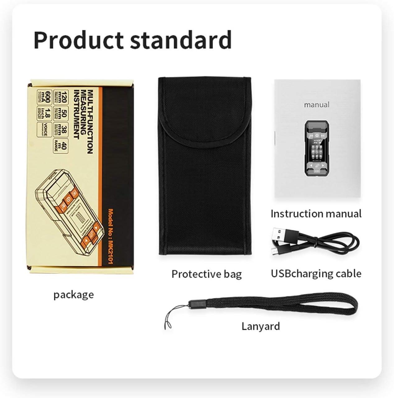 Tree-on-Life Telémetro láser Detector de Metales Nivel automático Medidor de Distancia Análisis electrónico Instrumento de medición Telémetro