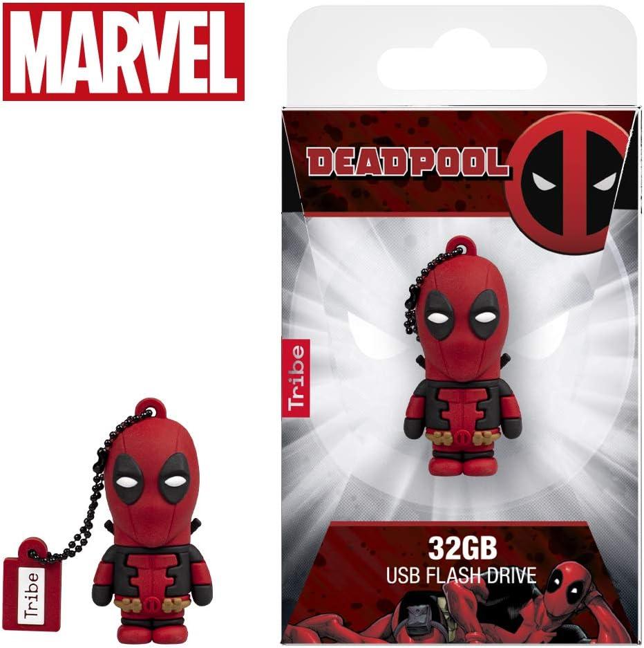 Original Marvel 2.0 Flash Drive Tribe FD016507 USB Stick 16 GB Captain Marvel