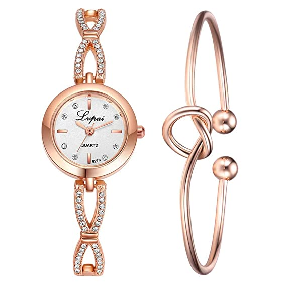 Amazon.com: Gibobby Luxury Watches for Women Simple Diamond ...