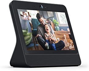 """Portal from Facebook. Smart, Hands-Free Video Calling with Alexa Built-in [10.1"""" Display] – Black"""